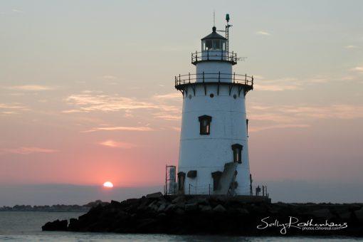 Saybrook Breakwater Lighthouse